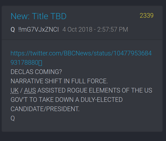 Q #2339 FOREIGN GOV'S ASSISTED ROGUE ELEMENTS TO TAKE DOWN ELECTED PRESIDENT!!!!!! Screen29