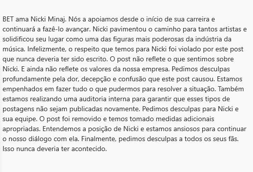 BET divulga carta aberta pedindo desculpa a Nicki Minaj e seus fãs Img_2012