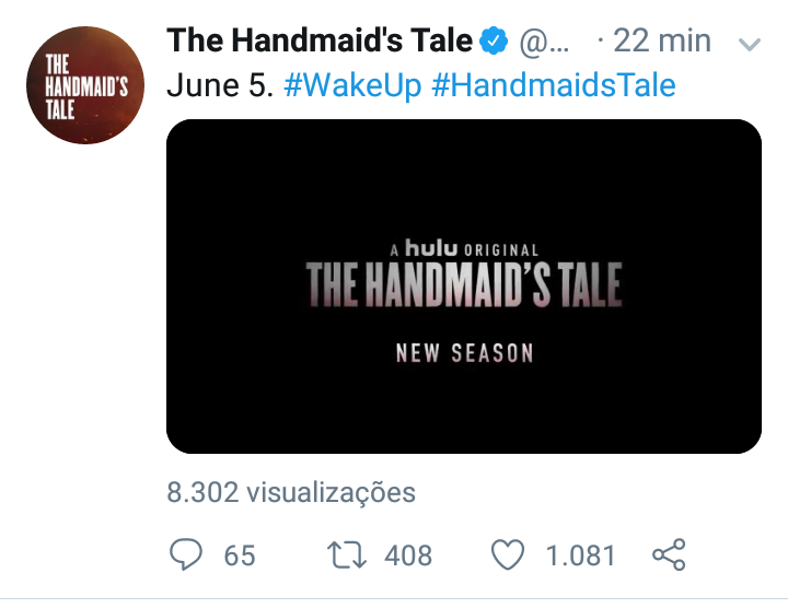 "Data da 3° temporada de ""The Handmaid's Tale"" é divulgada Screen34"