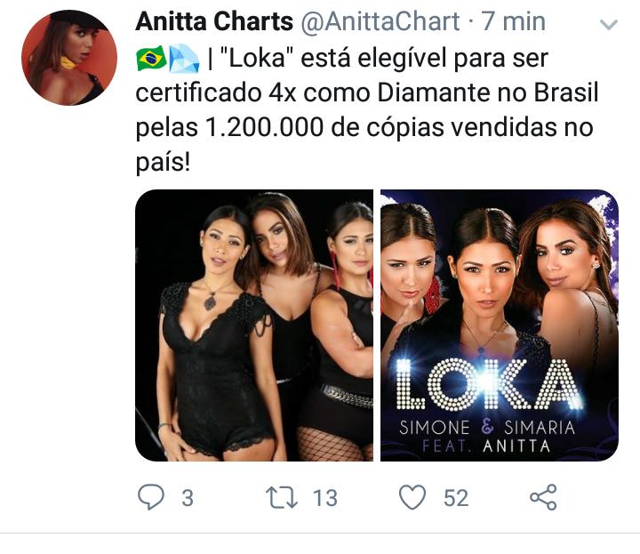 """""""Loka"""" está elegível a ser certificado 4x DIAMANTE no Brasil. Screen47"""
