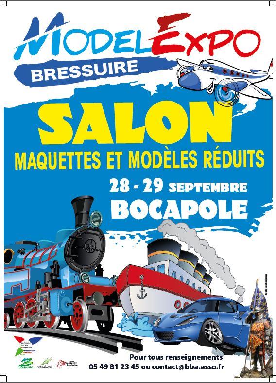 Model Expo 2019 - Salon Maquettes et Modèles réduits le 28 et 29 Septembre. Affich11