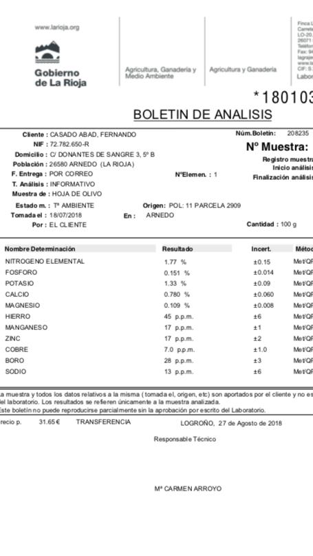 Casado análisis foliar feb-2018 Arnedo (La Rioja) Img_1310