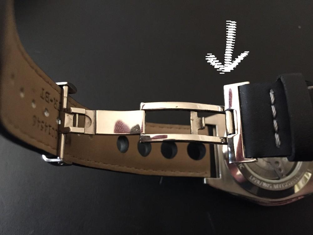 Tissot - Changer le bracelet cuir d'une Tissot PRC200 Image510
