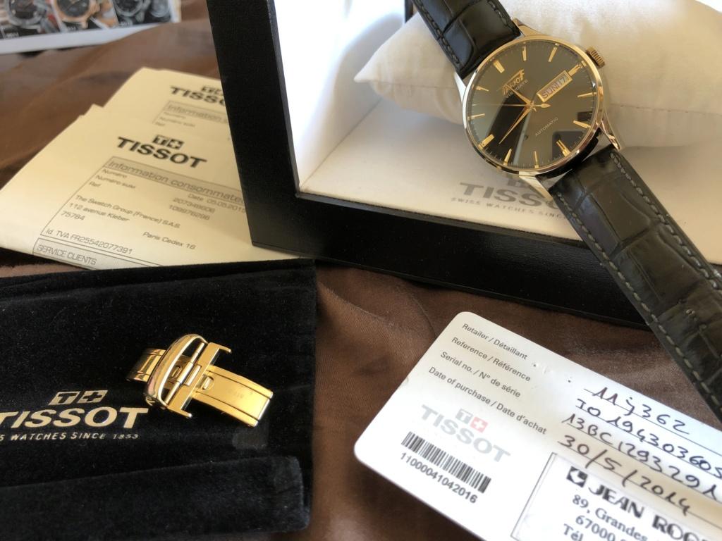Vends - [Vendue] Tissot Visodate automatique dorée 250€ Img_7310