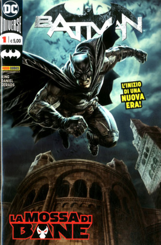 Panini Comics takes also DC Comics licence in Italy, adding it to its Marvel contracts Batman12