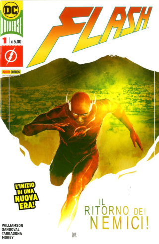 Panini Comics takes also DC Comics licence in Italy, adding it to its Marvel contracts Flash-11