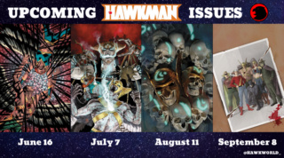 Hawkman and Hawkwoman with the JSA in September 2020 issue Hawkwo10