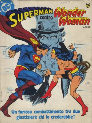 DC TO RELEASE HARDCOVER EDITION OF 1978's 'SUPERMAN VS. WONDER WOMAN' Superm13