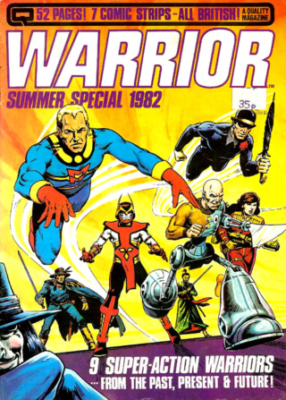 Comics Unlimited Warrio10
