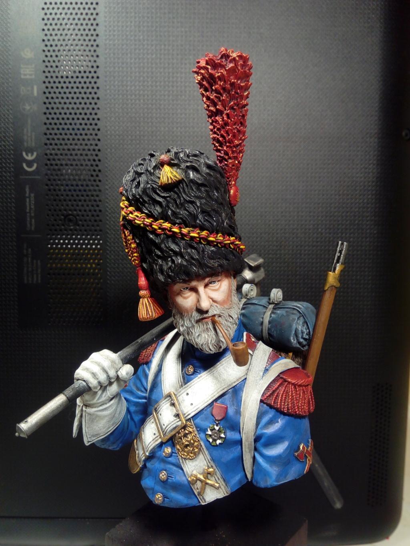 buste de sapeur grenadier napoléonien 110