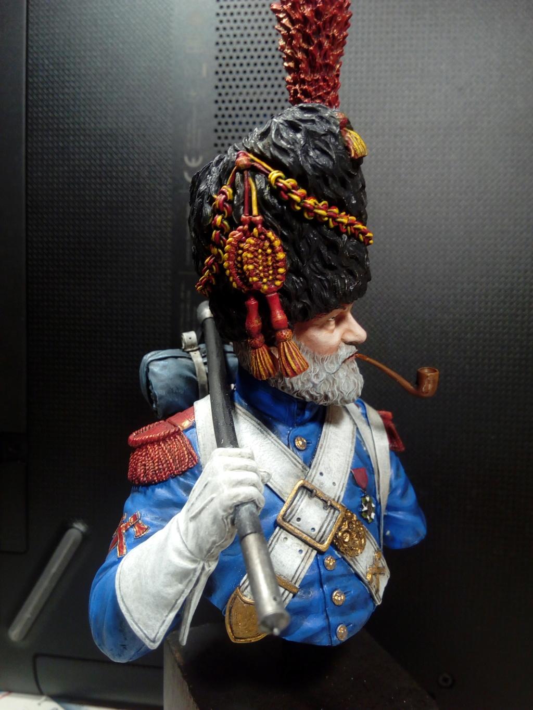 buste de sapeur grenadier napoléonien 210