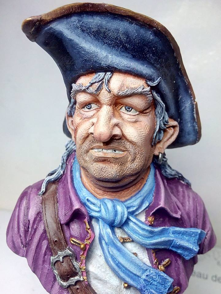 buste pirate capitaine william kidd 23316210