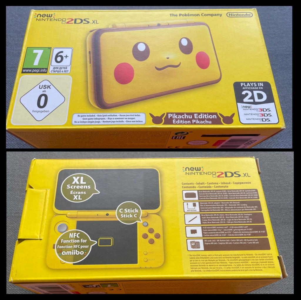 New Nintendo 2DS XL Édition Pikachu 04754710