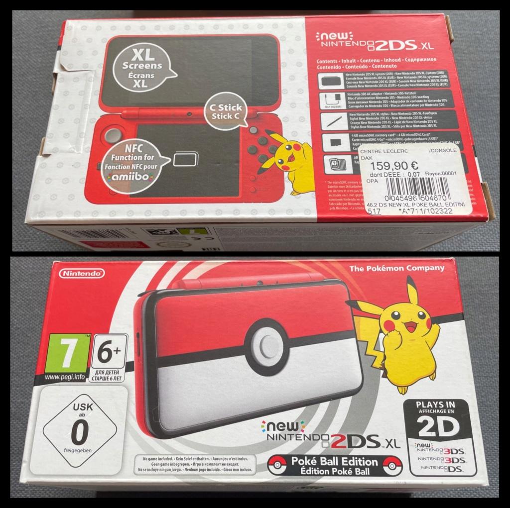 New Nintendo 2DS XL Édition Poké Ball 88c55b10