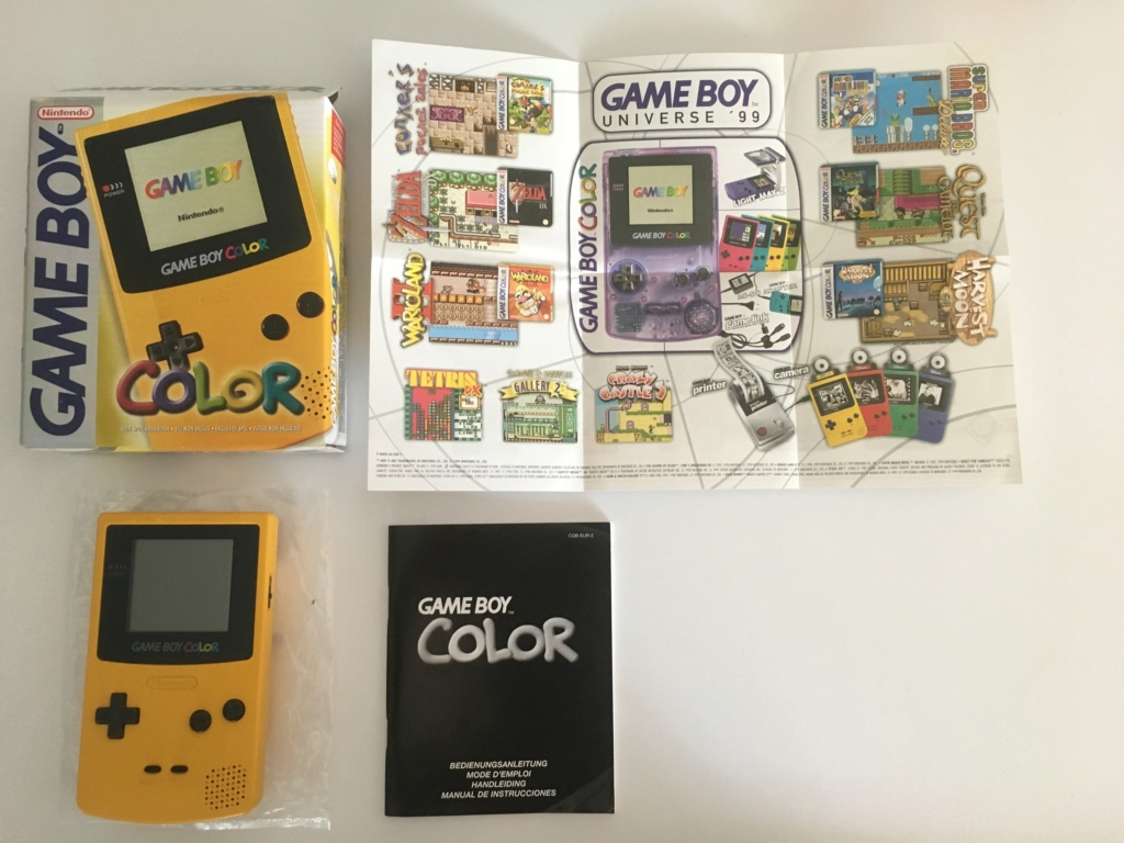 GAME BOY COLOR (jaune) Game_b10
