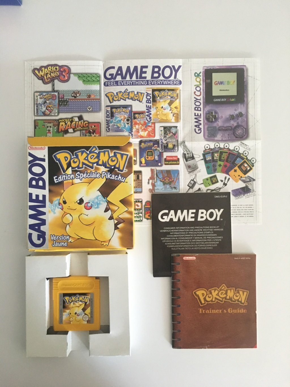 Pokémon Version Jaune Édition Spéciale Pikachu Pokemo15