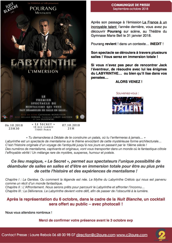 POURANG le mentaliste à Paris les 6 et 7 octobre  Cp_pou10