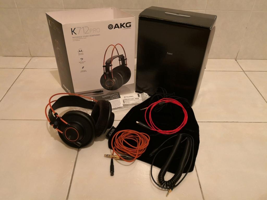 AkG K712 Pro Reference Studio Headphone(used)  Img_2010