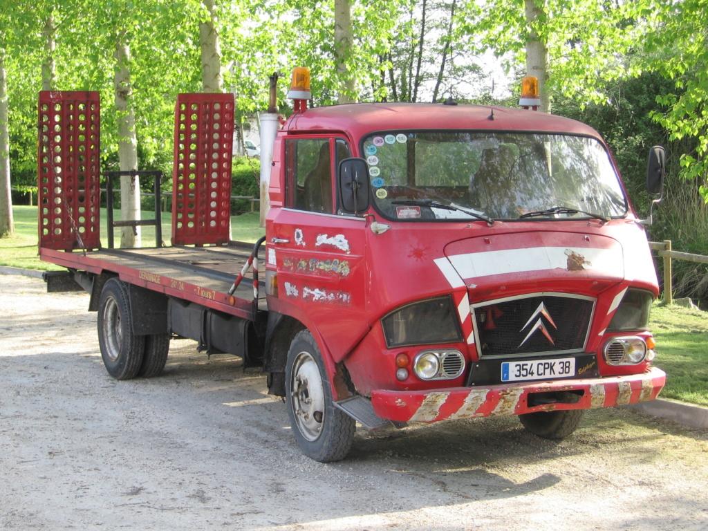 photos d'un routier Citroëniste 04510