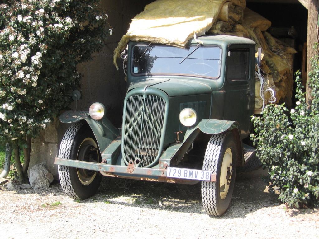 photos d'un routier Citroëniste 38110