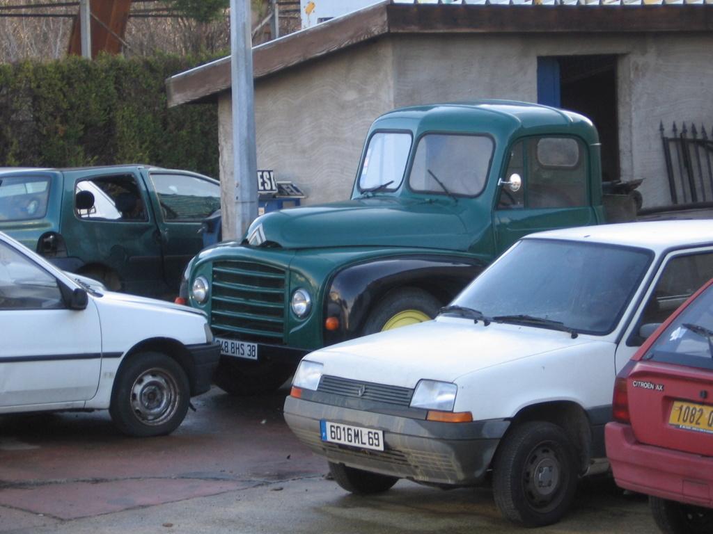 photos d'un routier Citroëniste 74010