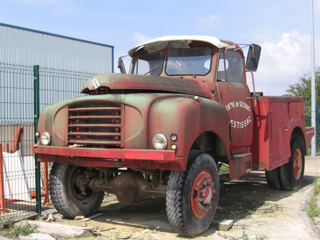 photos d'un routier Citroëniste 95710