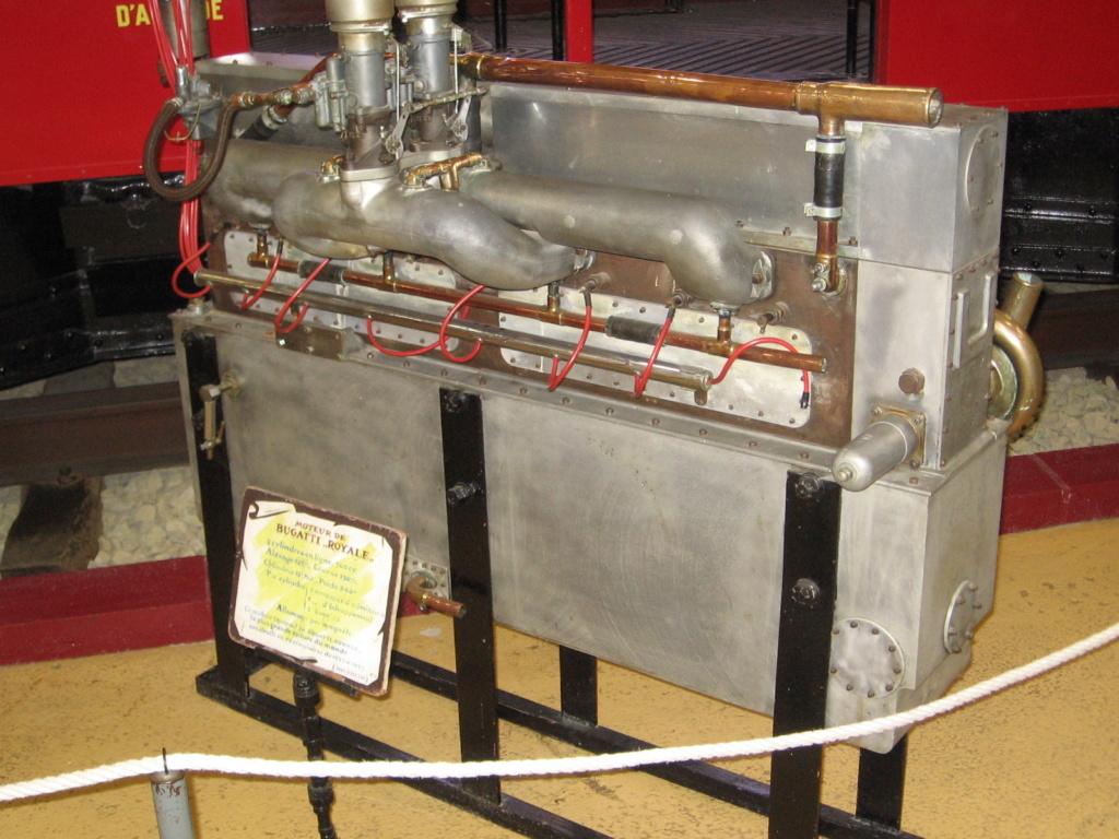 moteur de bugatti royale, un grand, très grand monsieur. Rochet11