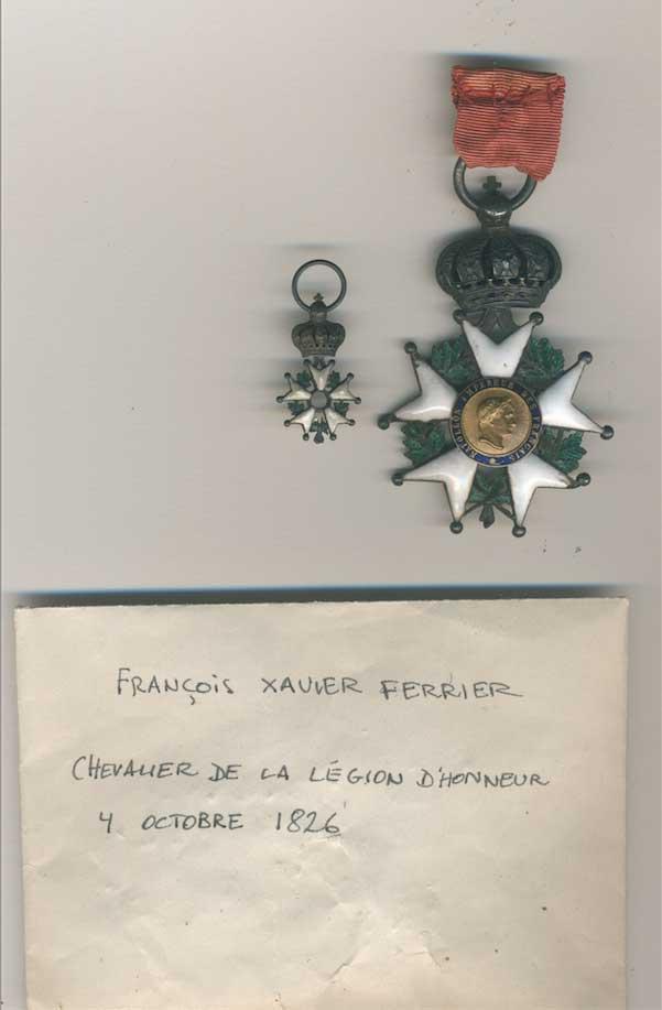 les Ferrier : officiers de la Grande Armée Scherm16