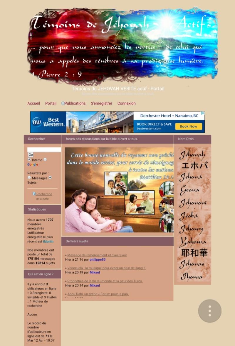 Forum des Temoins de Jehovah 20190263