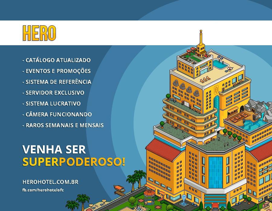 Hero Hotel - Venha ser superpoderoso! Dv111110