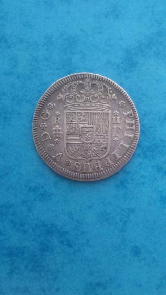 2 Reales 1724 Felipe V Segovia F 20200721