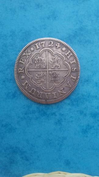 2 Reales 1724 Felipe V Segovia F 20200722