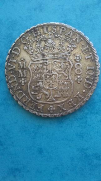 8 reales 1755 Mexico 20200725