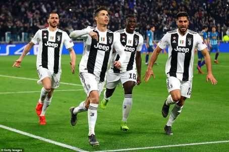 UCL: Cristiano Ronaldo Hat-Trick Shoots Juventus Into Quarter Finals (Photos)  89697512