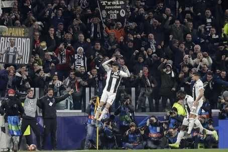 UCL: Cristiano Ronaldo Hat-Trick Shoots Juventus Into Quarter Finals (Photos)  89697610