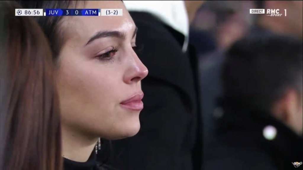 Cristiano Ronaldo's Girlfriend Georgina Rodriguez In Weeps for Joy After Hat-trick (Photos) 89703211