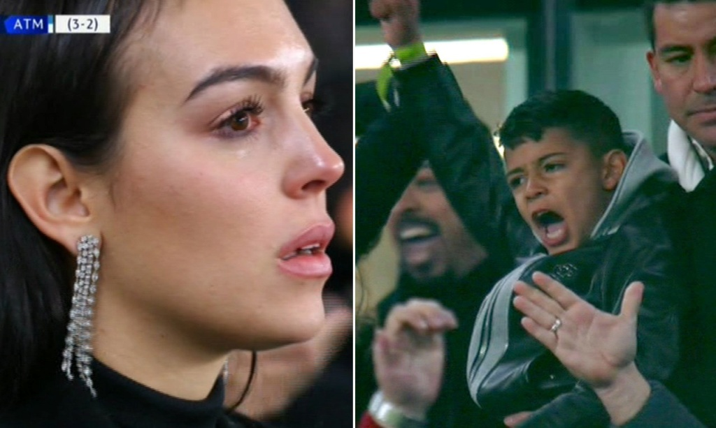 Cristiano Ronaldo's Girlfriend Georgina Rodriguez In Weeps for Joy After Hat-trick (Photos) 89703212