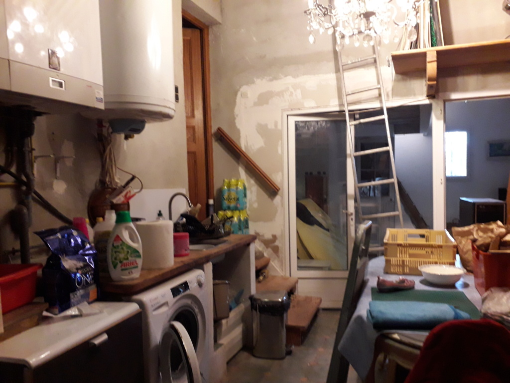 Garage transformation en studio, casse-tête chinois et besoin d'idées 20190317