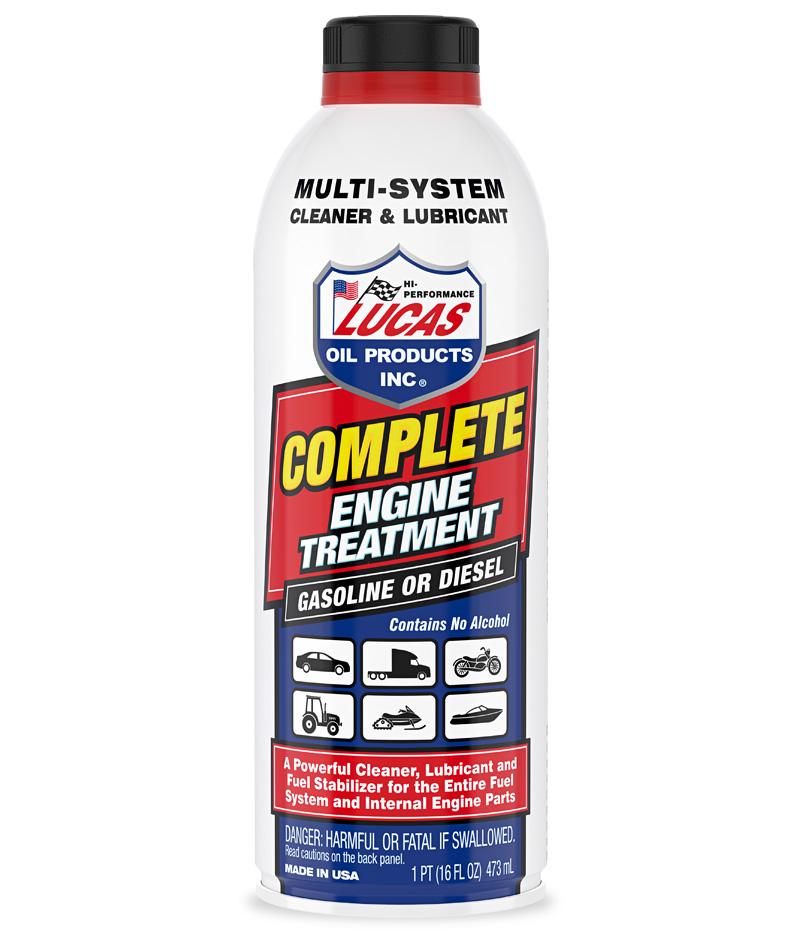 Techron, Redex,  Redline, SeaFoam fuel additives Lucas10