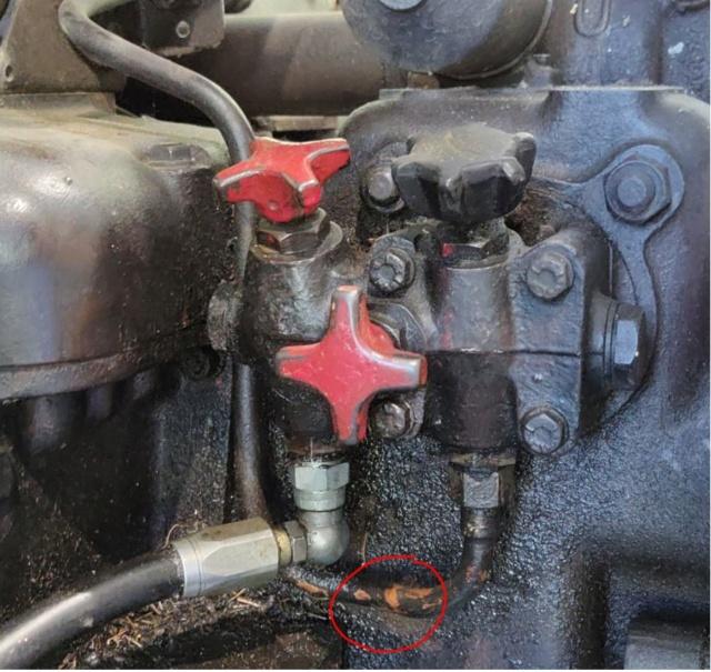 DB990 Selectan hydrauliikkavuodot 3tieve13