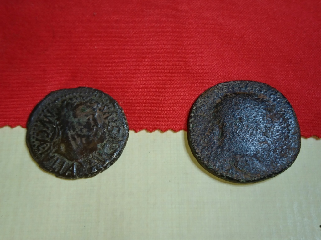 As hispano-romano de Augusto, Calagurris, y As de Trajano Dsc_0011