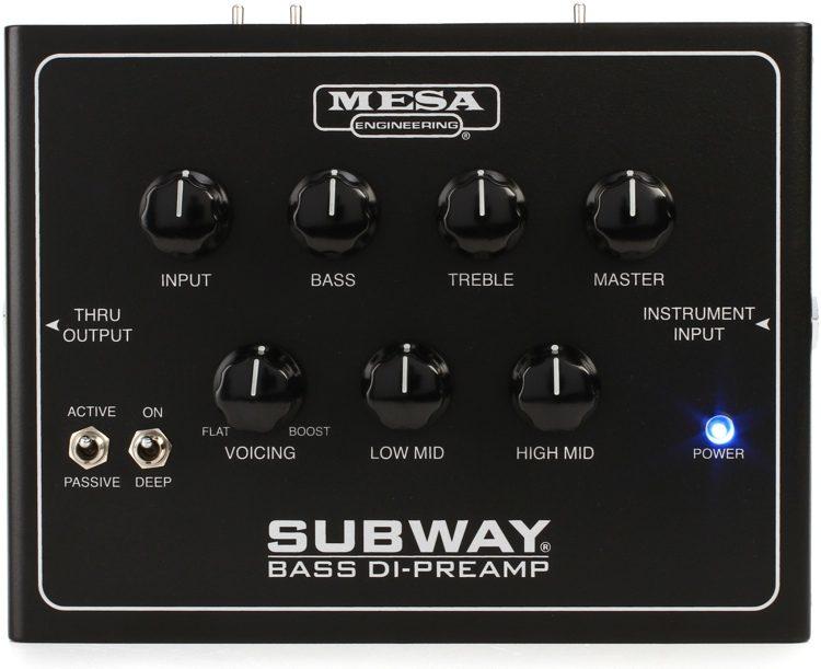 Mesa Boogie Bass DI Preamp + Caixa 2x12 Subway10