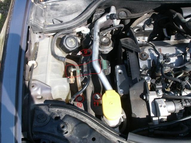 recherche reference boulon support moteur droit 51010