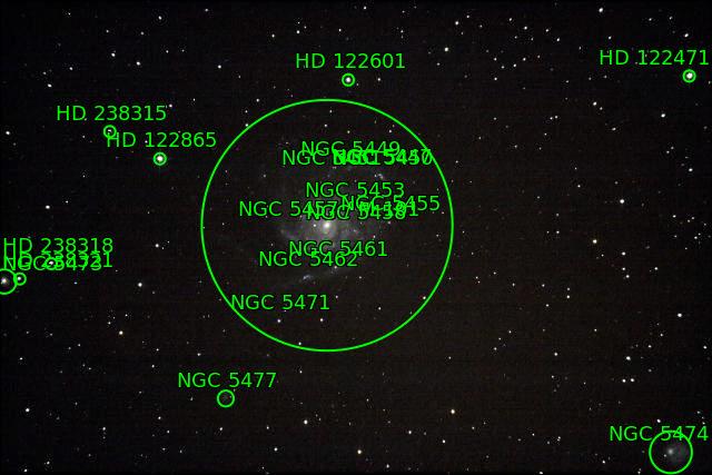 Orion M42 M43 Barnard 33 M101 Triplet Lion Astrom10