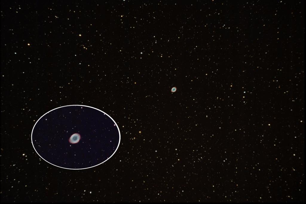 M57 1000D + ASI224 M5710