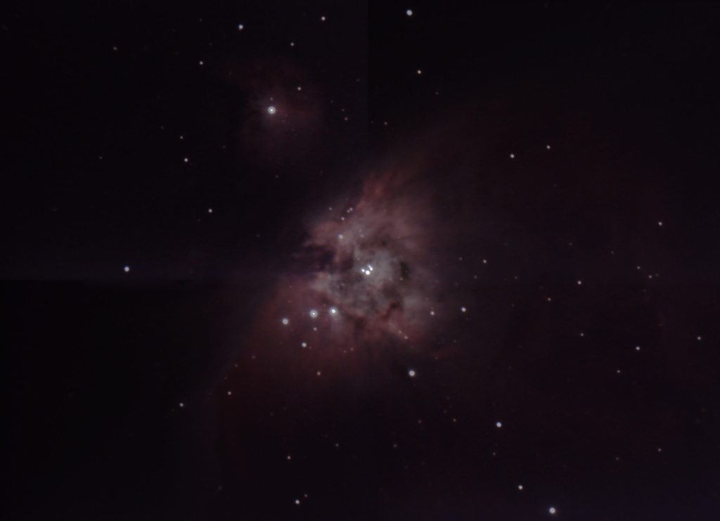 Orion M42 en Mosaïque à la ASI224  Orion010