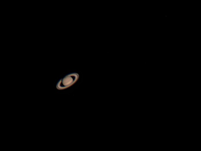 Saturne et ces satellites Saturn11