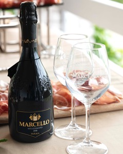 Fiera del Camper a Parma, degustazione Lambrusco e salumi tipici. L1010710