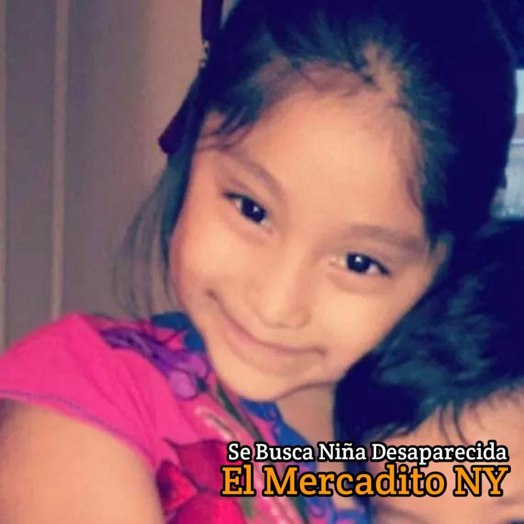 Ayuda a Encontrar Niñita Desaparecida 20190911
