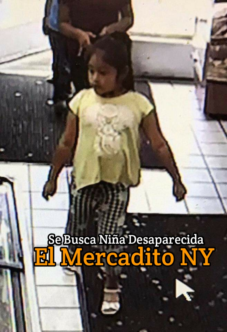 Ayuda a Encontrar Niñita Desaparecida 20190914